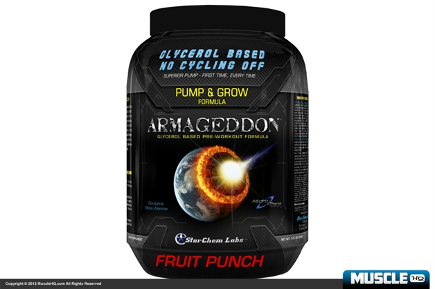 StarChem Labs Armageddon Pre-Workout Compound - SHORT DATED